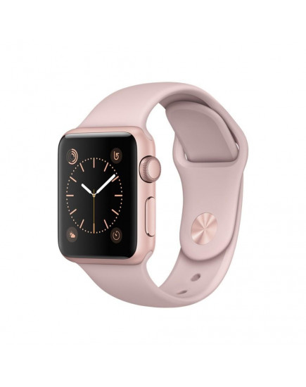 Apple Watch Series 2 42mm Rose Gold Aluminum Case with Pink Sand Sport Band (MQ142)