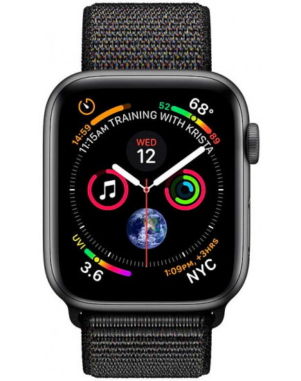Умные часы Apple Watch Series 4 44mm Space Gray (MU6E2)