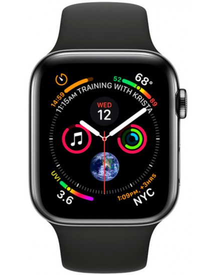 Apple Watch Series 4 LTE 44mm Space Black (MTV52)