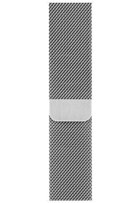 Apple Watch Series 3 42mm Stainless Steel Case with Milanese Loop (MR1U2)