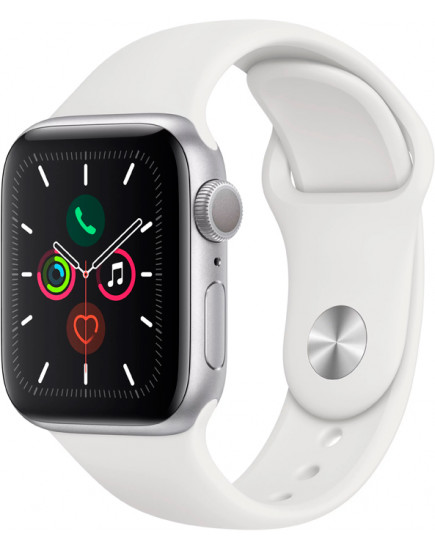 Apple Watch Series 5 44mm Aluminum Silver (MWVD2)