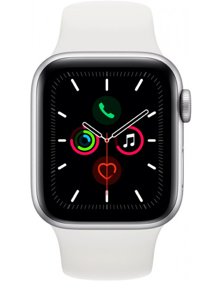 Apple Watch Series 5 LTE 44mm Aluminum Silver (MWVY2)