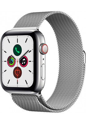 Apple Watch Series 5 LTE 44mm Stainless Steel Silver (MWWG2)