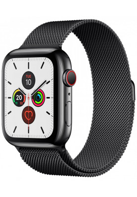 Apple Watch Series 5 LTE 44mm Stainless Steel Space Black (MWWL2)