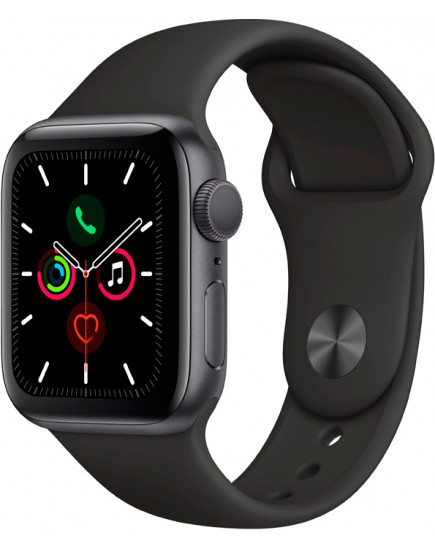 Apple Watch Series 5 LTE 40mm Aluminum Space Gray (MWX32)