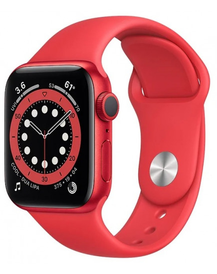 Apple Watch Series 6 44mm Aluminum Red (M00M3)