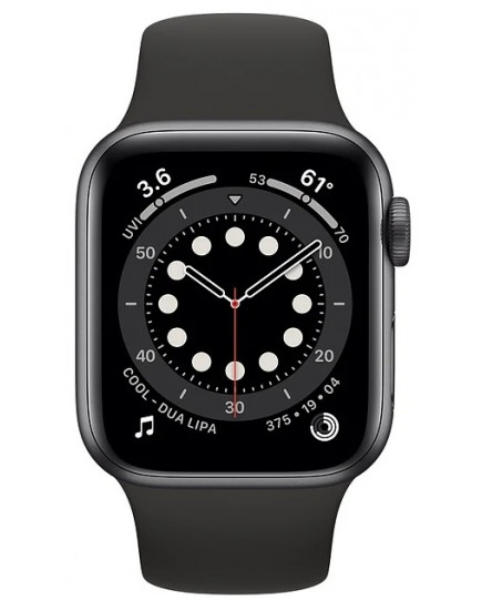 Apple Watch Series 6 44mm Aluminum Space Gray (M00H3)