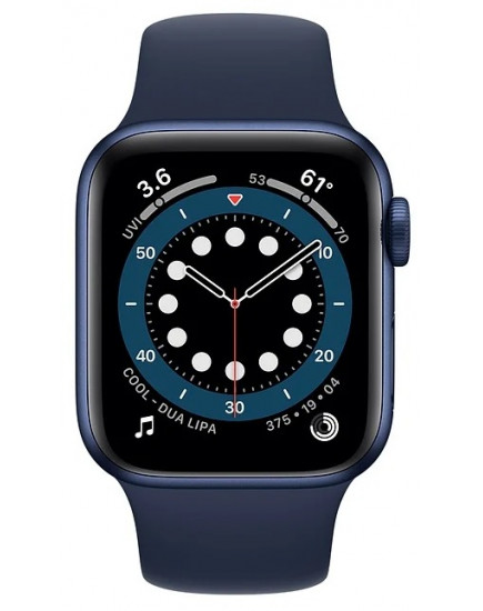 Apple Watch Series 6 44mm Aluminum Blue (M00J3)