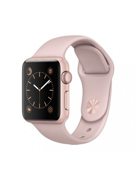 Умные часы Apple Watch Series 2 38mm Rose Gold Aluminum Case with Pink Sand Sport Band (MNNY2)