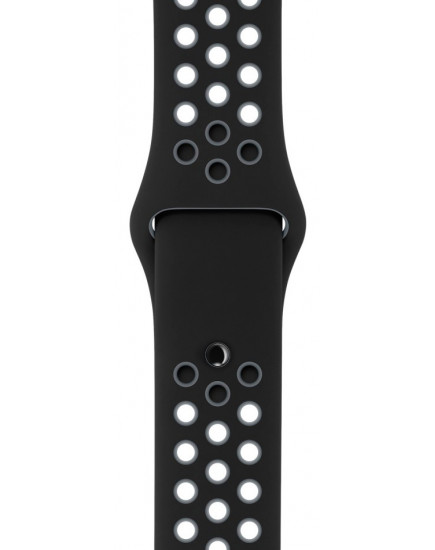 Умные часы Apple Watch Nike+ 38mm Space Gray with Black/Cool Gray Band (MNYX2)