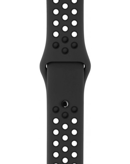 Умные часы Apple Watch Nike+ 38mm Space Gray with Black Nike Sport Band (MQ162)